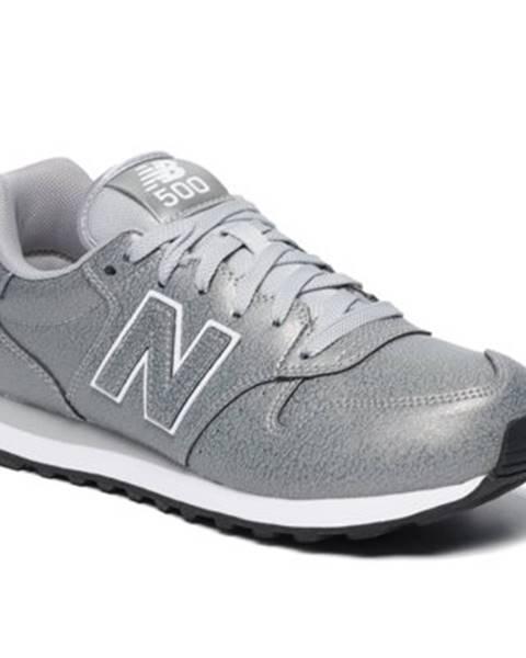 Strieborné topánky New Balance