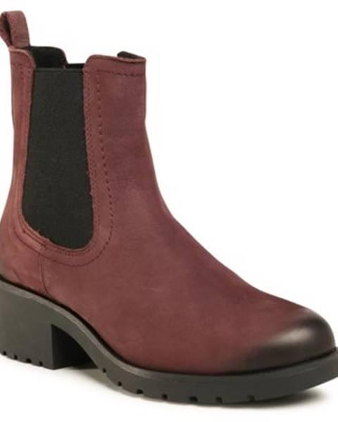 Bordové topánky Lasocki