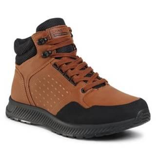 Šnurovacia obuv Lanetti MP07-91357-02 Ekologická koža/-Ekologická koža