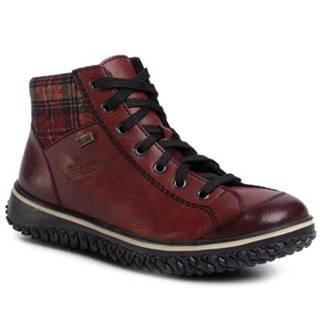 Šnurovacia obuv Rieker Z4243-36 Imitácia kože/-Imitácia kože