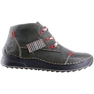 Šnurovacia obuv Rieker 51534-54 Imitácia kože/-Imitácia kože