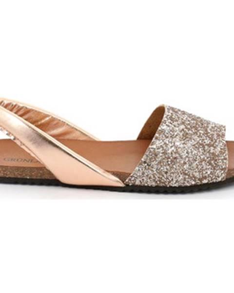 Ružové sandále Grunland