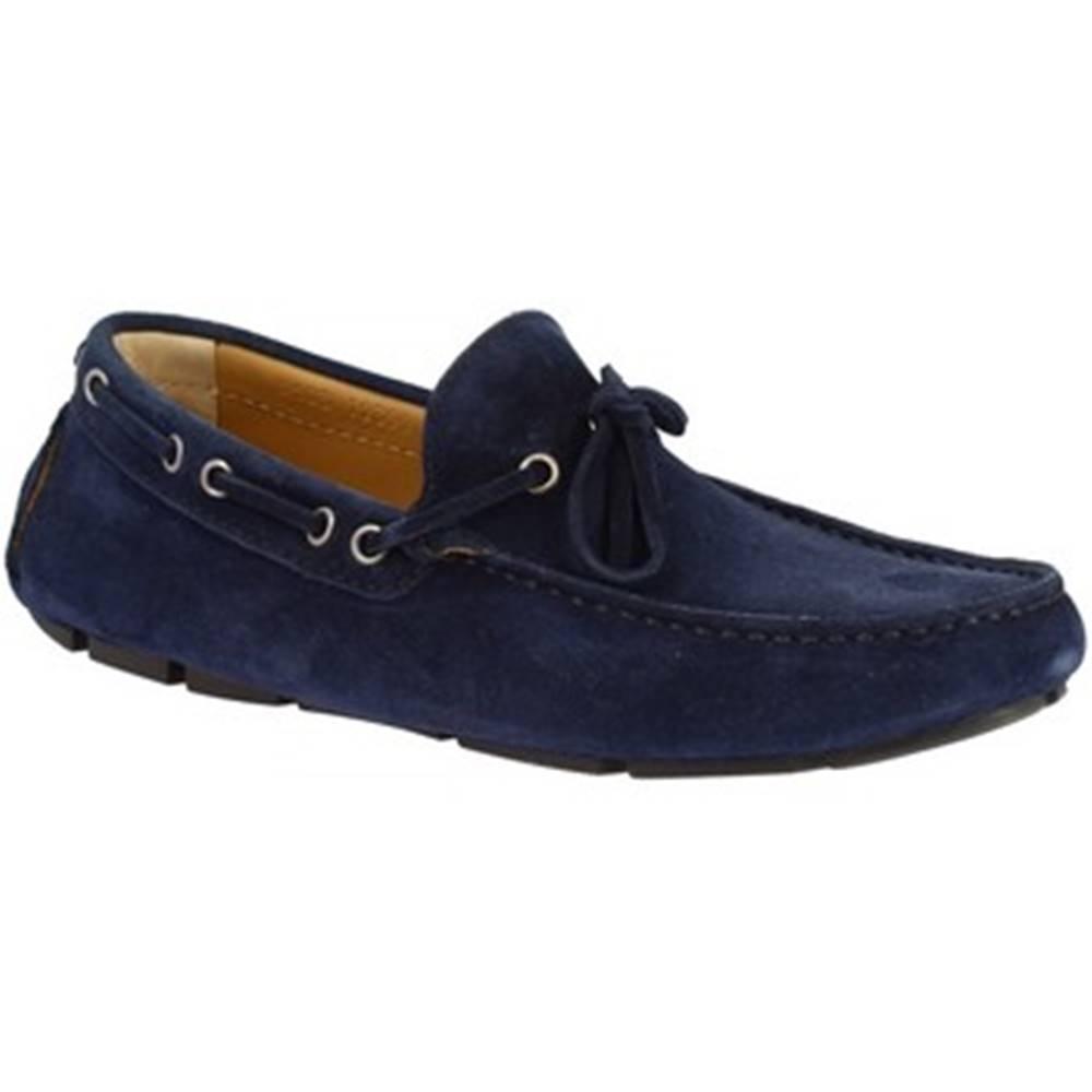Leonardo Shoes Mokasíny Leonardo Shoes  8103 SOFTY BLU