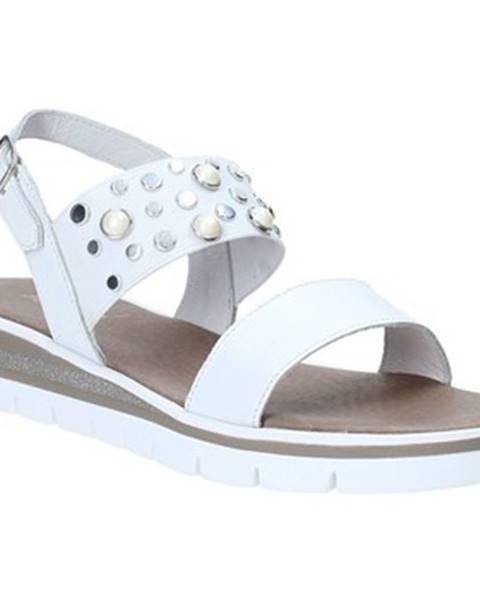 Biele sandále Jeiday