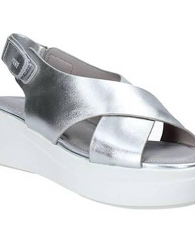 Strieborné sandále Impronte