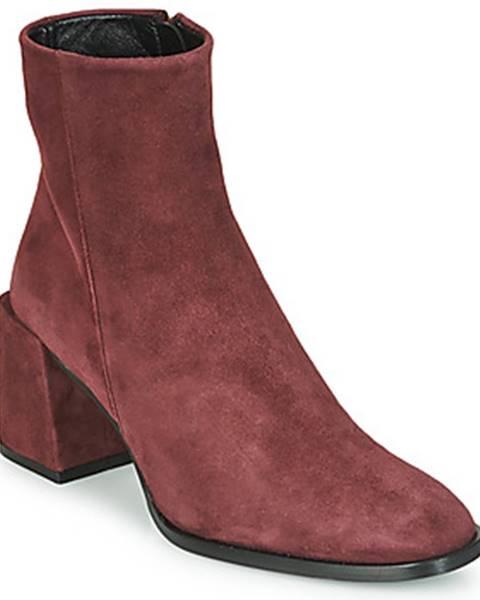 Bordové topánky Castaner