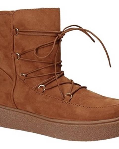 Hnedé topánky Fornarina