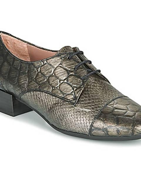 Strieborné topánky Hispanitas