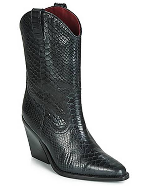 Čierne topánky Bronx