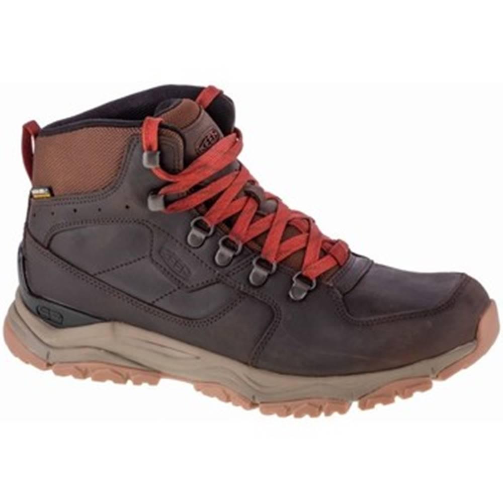 Keen Nízka obuv do mesta Keen  Innate Leather Mid WP