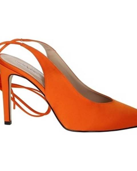 Oranžové lodičky Maksa