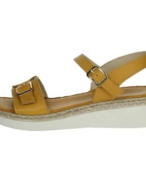 Žlté sandále Riposella