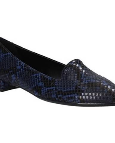 Modré balerínky Grace Shoes