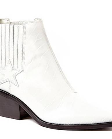 Biele topánky Guess