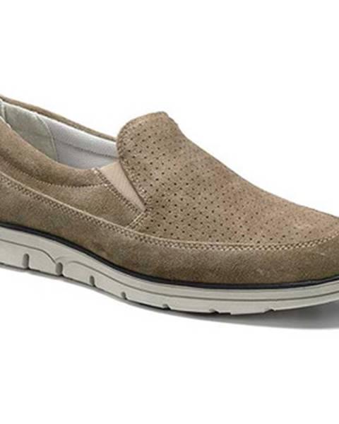Béžové topánky Keys