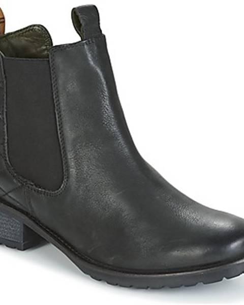Čierne topánky Barbour