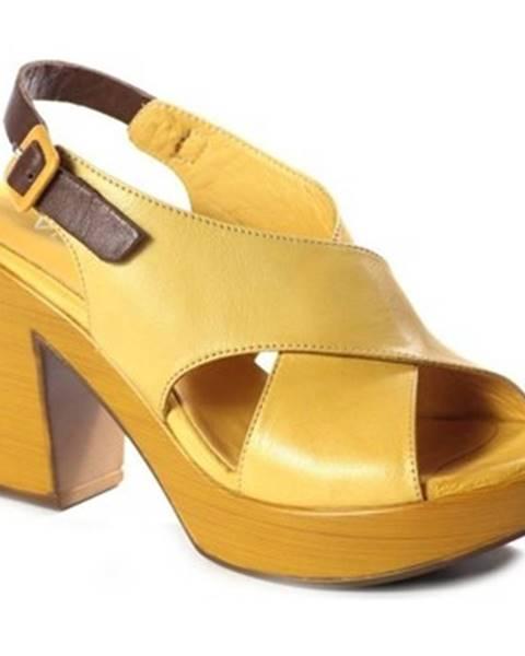 Žlté sandále Venezia