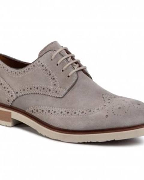 Šedé topánky Gino Rossi