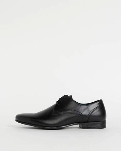 Čierne topánky Burton Menswear London