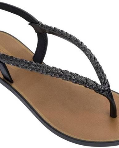 Čierne papuče Grendha