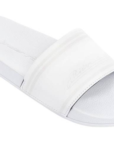 Biele papuče Rider