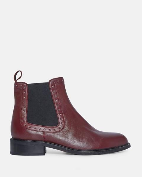 Vínové topánky Dorothy Perkins