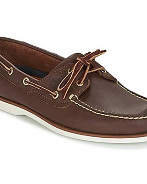Hnedé topánky Timberland