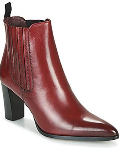 Červené topánky Muratti