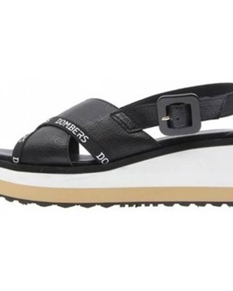 Čierne sandále Dombers