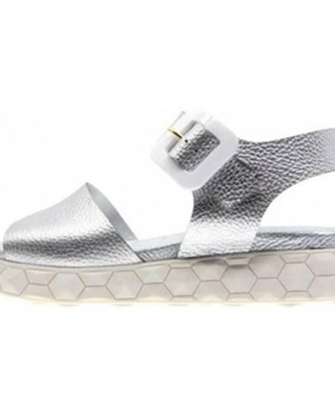 Viacfarebné sandále Dombers