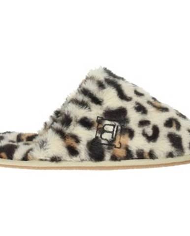 Béžové papuče Laura Biagiotti