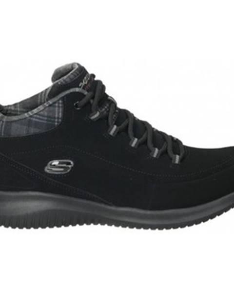 Čierne tenisky Skechers