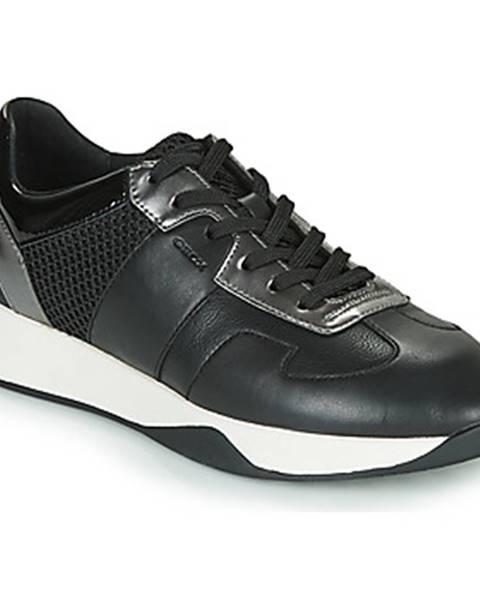 Čierne tenisky Geox