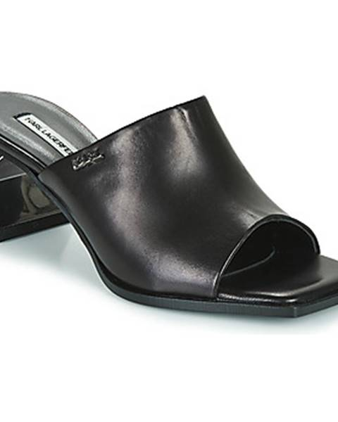 Čierne topánky Karl Lagerfeld