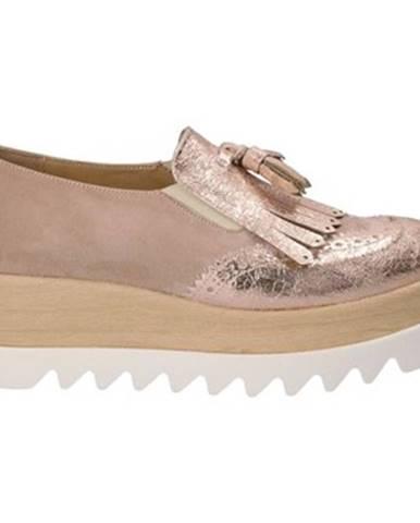 Ružové espadrilky Grace Shoes