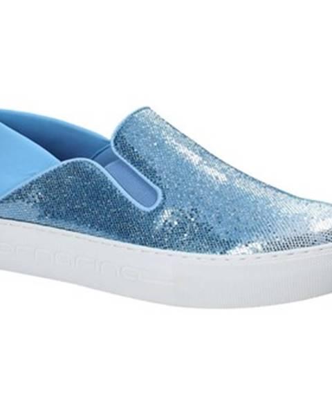 Modré espadrilky Fornarina