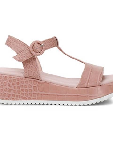 Ružové sandále Café Noir