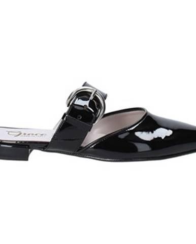 Čierne espadrilky Grace Shoes