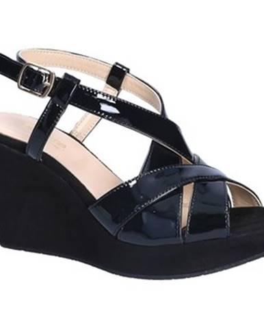 Čierne sandále Grace Shoes