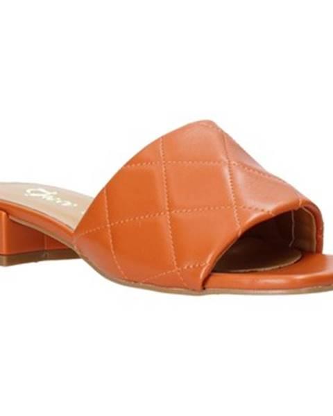 Oranžové topánky Grace Shoes