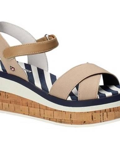 Hnedé sandále U.S Polo Assn.