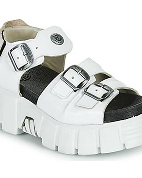 Biele sandále New Rock