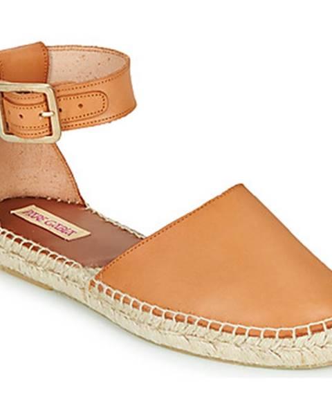 Hnedé sandále Pare Gabia