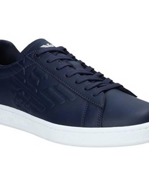 Modré tenisky Emporio Armani EA7