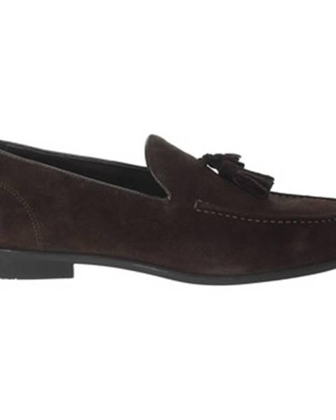 Hnedé topánky Gino Tagli
