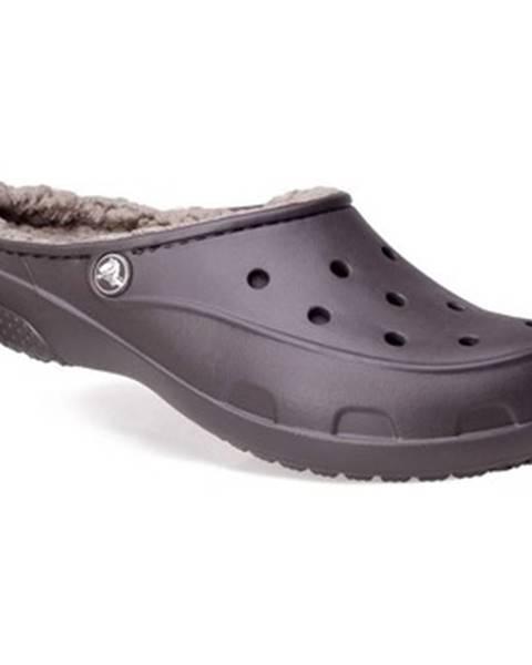 Hnedé topánky Crocs