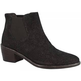 Čižmičky Leonardo Shoes  W415-01 VORTICE NERO