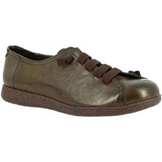 Derbie Leonardo Shoes  1269 VERDE