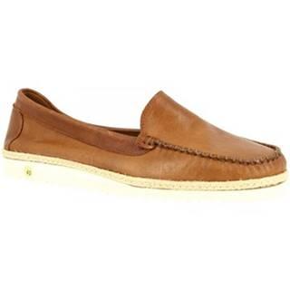 Mokasíny Leonardo Shoes  208 TEX SIGARO