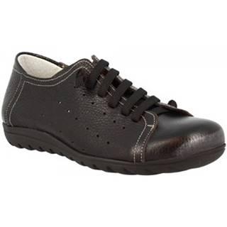 Derbie Leonardo Shoes  594 VITELLO NERO